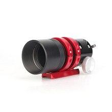 Tube optique de télescope, 50mm f/4 entièrement en métal, Guide multifonctionnel, réfracteur de portée, pour les caméras de guidage automatique