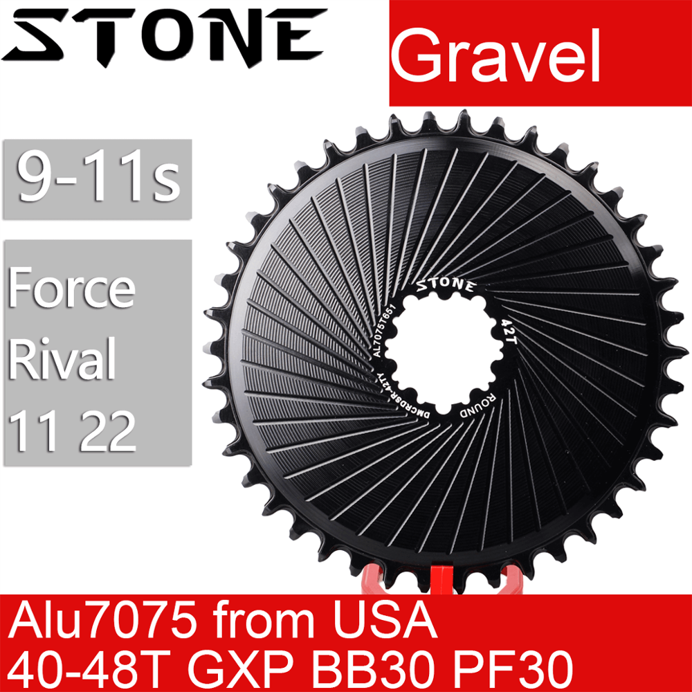 Stone Chainring for Gravel Rival 11 22 Force 11 22 Direct Mount DM Chainring Chainwheel tooth plate for Sram for road bike axs
