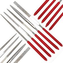 Wood Rasp Files-Needle Metal Filing-Tool Hand-Woodworking Mini DIY 5pcs Folder