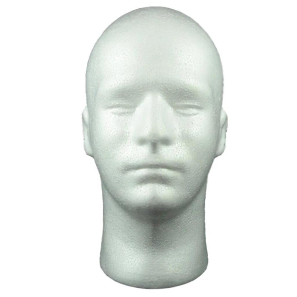 Foam Mannequin Head Wigs Hats Cap Glasses Headphone Model