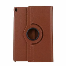 все цены на Lichee Rotating Case for iPad 9.7 2017 9.7inch Case Tablet Back PU Cover Protective Skin онлайн