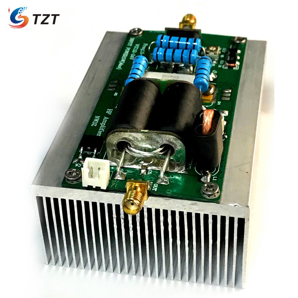 TZT 30W50W/100W Shortwave Amplifier RF Power Amplifier HF RF Amplifier HF Linear Amp 2-54MHz For Ham Radio