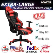 Furgle High Quality Gaming Armchair Modern Chair with Leather Gaming Chair Home WCG Game Reclining Computer Chair Office Seats