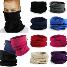 1pc 3in1 inverno unissex feminino masculino esportes de lã térmica cachecol snood pescoço mais quente máscara facial gorro chapéus