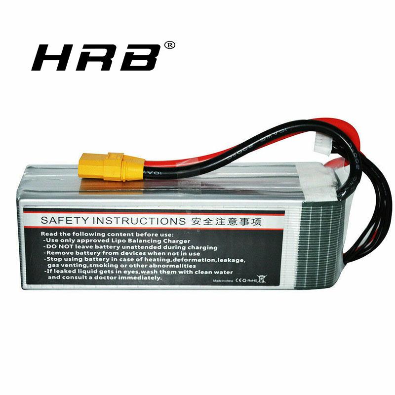 Youme 6500mAh 6S 22.2V 60C Lipo battery XT90 for RC TRUCK HELI PLANE CAR