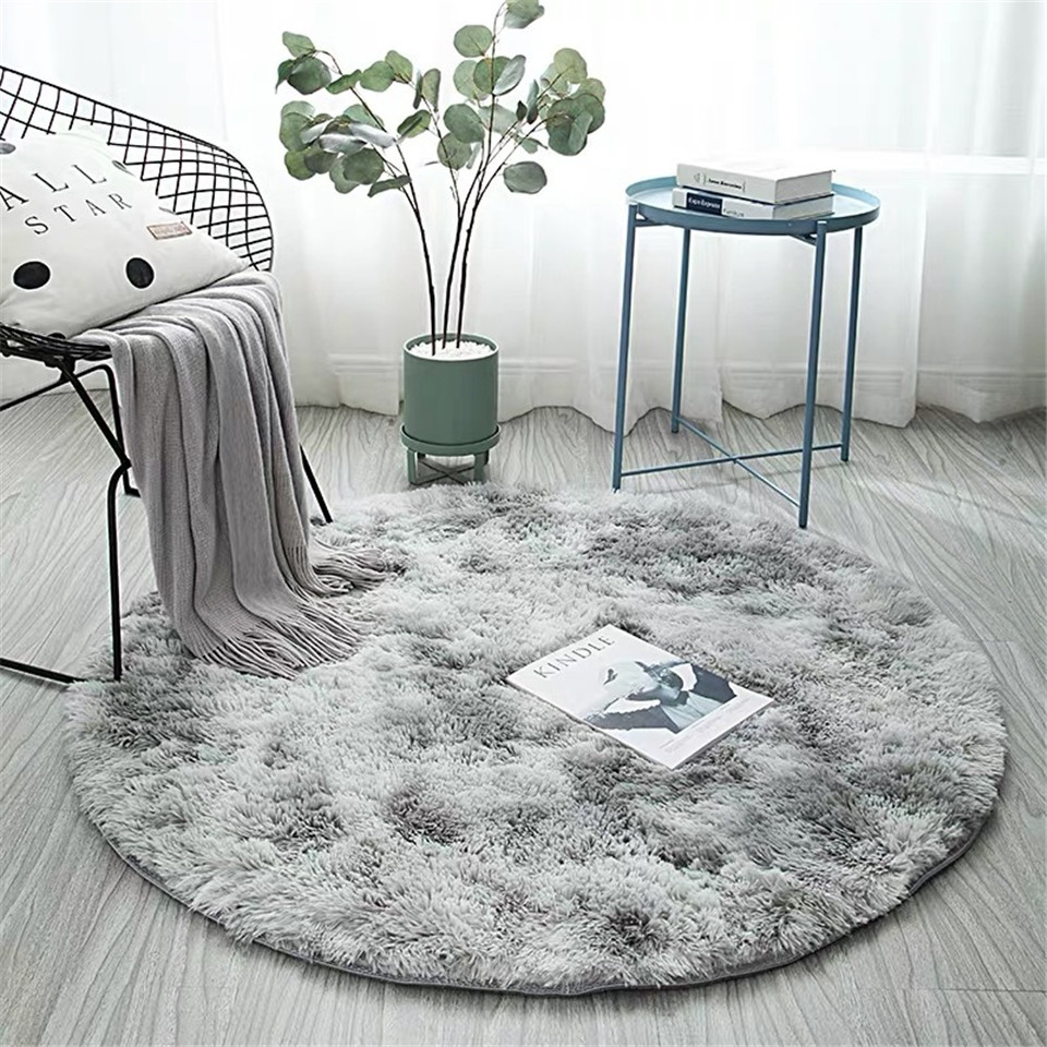 Nordic Ins Style Grant Colorful Rug