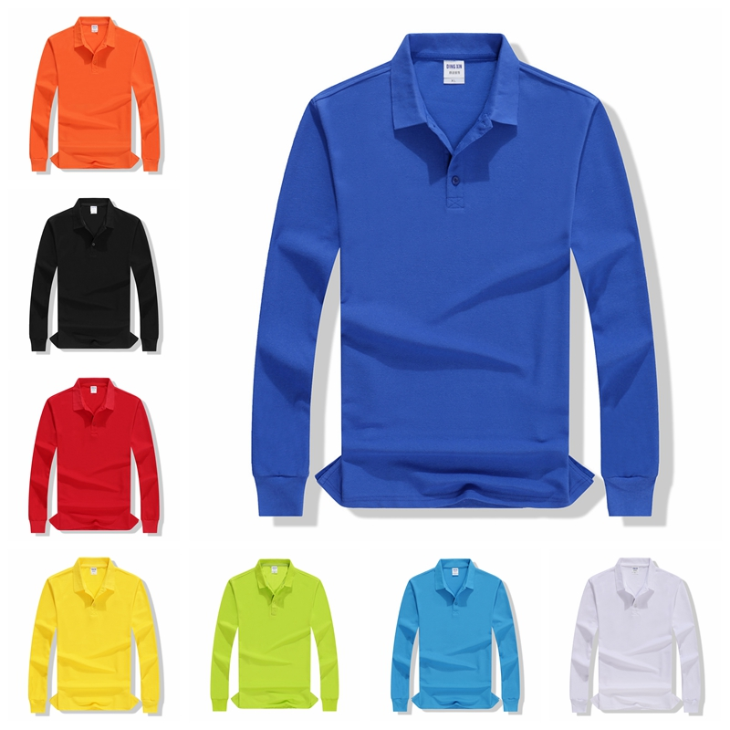 High Quality Autumn New Women Long Sleeve Polo Shirts Solid Casual Lady Breathable Golf Tennis Large Size Class Service Custom