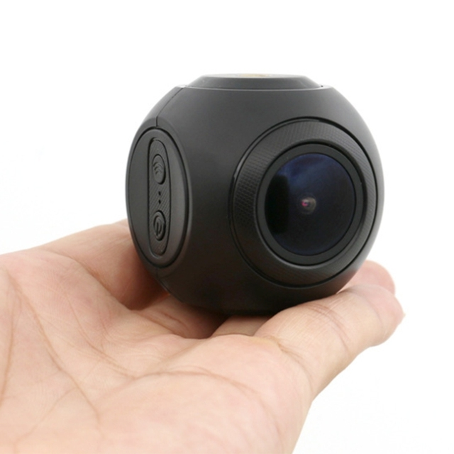 the New Spherical Nonscreen Driving Recorder HD with WIFI Mobile APP Wireless Control A9D 1080 HD 170° Wide Angle