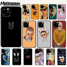 Motirunner Bad Bunny Malumaluxury Mobile Case For Iphone 5s Se 6 6s 7 8 Plus X Xs Max Xr 11 Pro Max Telephone Accessories