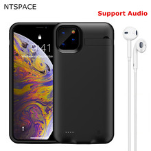 For iPhone 11 Pro Max Battery Cases Power Case Extenal Bank Shockproof Cover