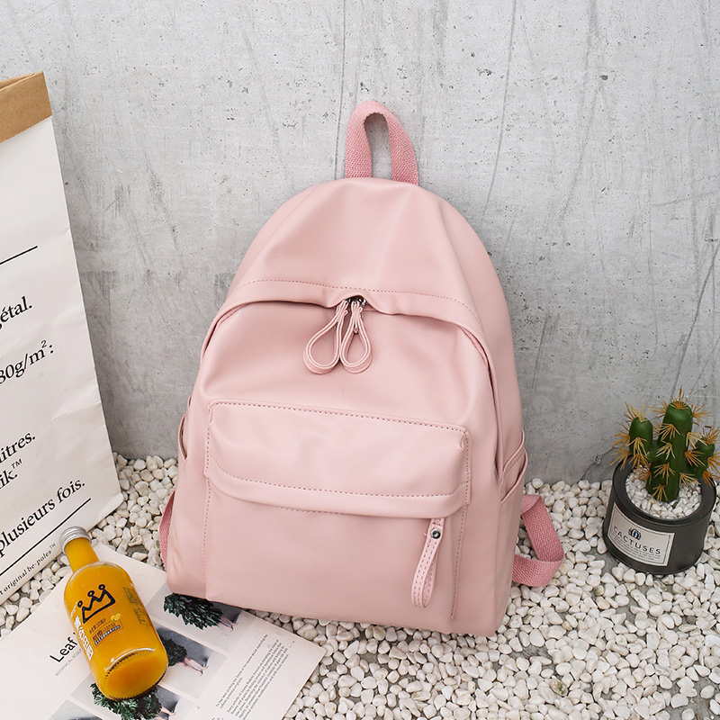 Image 3 - College Leather Backpack Women Multi Pocket Big Travel Backpacks Female School Bag for Teenage Girls Book Mochilas XA503H-in Backpacks from Luggage & Bags