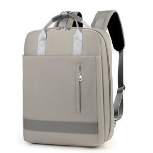 Image 2 - 2019 frauen USB Ladung Laptop Rucksack Tasche 15 15,6 zoll Notebook PC Tablet Rucksack Daypack für Macbook Dell HP HUAWEI