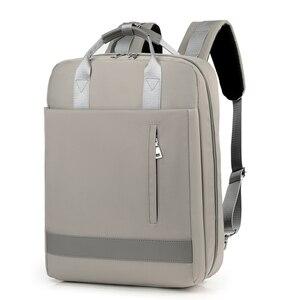 Image 2 - 2019 kadın USB şarj Laptop sırt çantası 15 15.6 inç dizüstü PC Tablet sırt çantası sırt çantası Macbook Dell HP HUAWEI