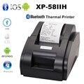 Xprinter 58 мм Мобильный телефон Bluetooth чековый принтер тепловой беспроводной принтер pos для iOS Android Pc USB порт для магазина