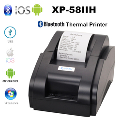 Xprinter 58mm Mobile Phone Bluetooth Bill Receipt Printer Thermal Wireless Pos Printer For iOS Android Pc USB Port For Store