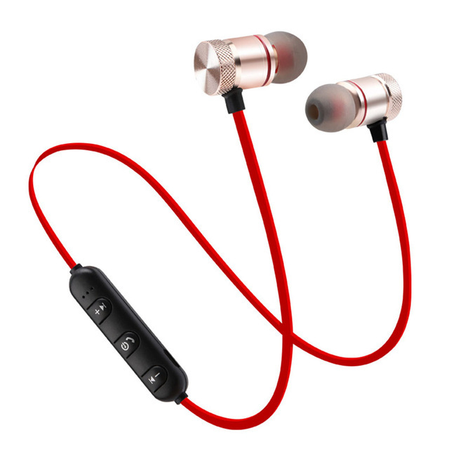 XT6 Bluetooth Earphone Wireless Headset Sport Stereo Headphones Bass Music Earpieces Earbuds With Mic for Xiaomi iPhone Huawei