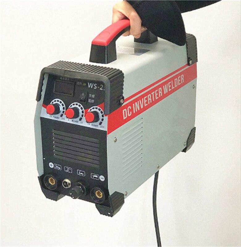 2In1 ARC/TIG IGBT Inverter Arc Elektrische Schweißen Maschine 220V 250A MMA Schweißer für Schweiß Arbeits Elektrische Arbeits power Tools