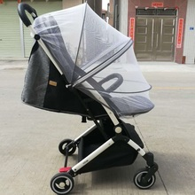 Cart Mosquito Net for Fly Insect Protection Baby Crib Summer Mesh Full Cover Safe Mosquito Netting for Stroller Pushchair