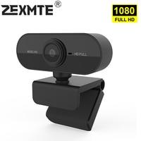 1080P Webcam Volle HD Web Kamera mit Mikrofon USB Mini Web Cam Computer PC Webkamera Für Mac Desktop Youtube skype Konferenz