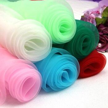 75cm/1Meter Eugene gauze fabric black white wedding mesh wholesale transparent stiff lace