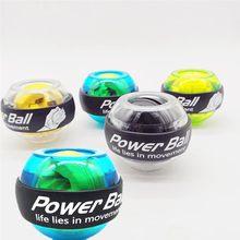 Boule de puissance de poignet avec lumière multifonctionnelle, boule de puissance de Fitness, Gyroscope, Exercice de renforcement du poignet