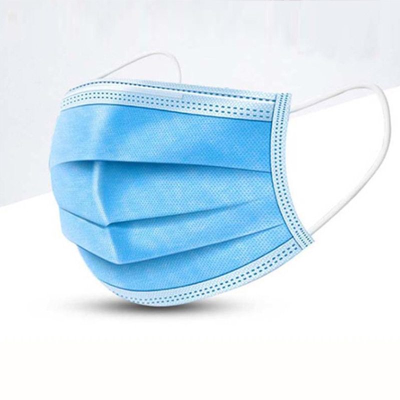 Prevent Bacteria Anti-Pollution 3 Layers Mask Dust Protection Face Masks Disposable Dust Filter Safety Mask Earloop Face Masks