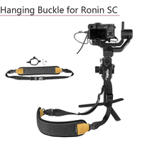 Rope Hang Buckle Fixed Ring Sling Clasp with Screw Nylon Lanyard Shoulder Strap for DJI Ronin SC Handheld Gimbal Accessories