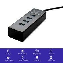 4 порта usb-хаб высокая скорость 5 Гбит/с usb 3,0 концентратор для порта usb разветвитель 3 usb хаб для портативных ПК компьютер аксессуары док-станция usb 3,0