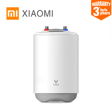 Yeni XIAOMI MIJIA VIOMI elektrikli su isıtıcı depolama su kazan ev mutfak musluk duş 6.6L kapasiteli IPX4 su geçirmez