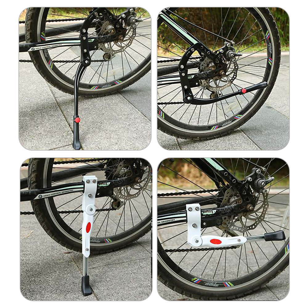 Adjustable Road Bicycle Kickstand Aluminum Support Side Kick Stand Parking Rack Mountain Cycling Accessories
