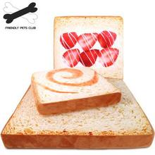 Pet Toast Cushion Dog Pad Cat Litter Creative Bread Mat Removable Washable