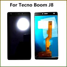 LCD Display For Tecno Boom J8 LCD Screen With Touch Screen Digitizer Assembly 100% Tested M