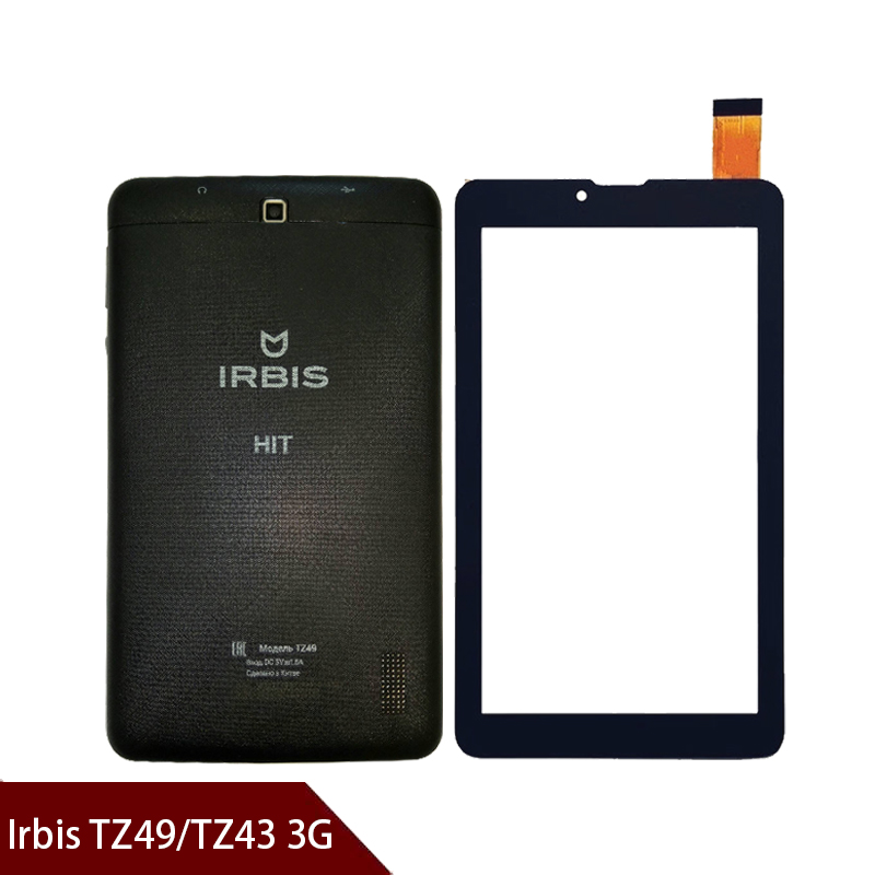 A+ 7 inch For Irbis TZ49 / TZ43 3G Touch Screen Digitizer Replacement Parts Touch panel Digitizer Glass Sensor Free shipping image