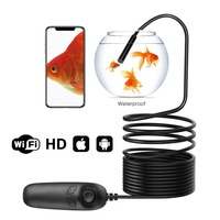 مقاوم للماء 1200P واي فاي 8.0 مللي متر المنظار كاميرا تفتيش صغيرة DV مسجل USB كاميرا لاسلكية نطاق كام للهاتف أندرويد/IOS على