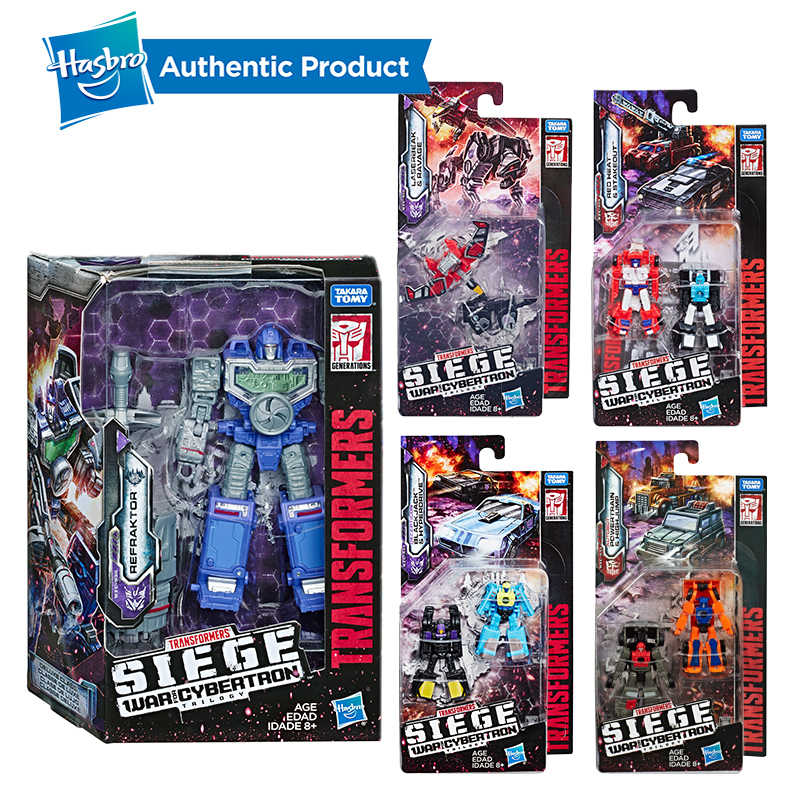 Hasbro Трансформеры игрушки поколения войны для Cybertron Siege Micromaster WFC-S18 Soundwave Spy Patrol 2-pack фигурка