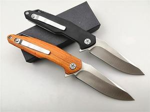 Image 2 - Pocket EDC Knife KESIWO KS12 Ball Bearing Flipper Folding Knife D2 Blade Camping Outdoor Hunting Hiking Knives Garden Hand Tool