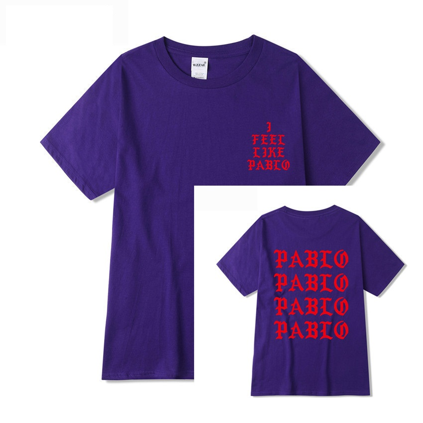 Jesus is King I Feel Like Pablo Streetwear T shirt  4