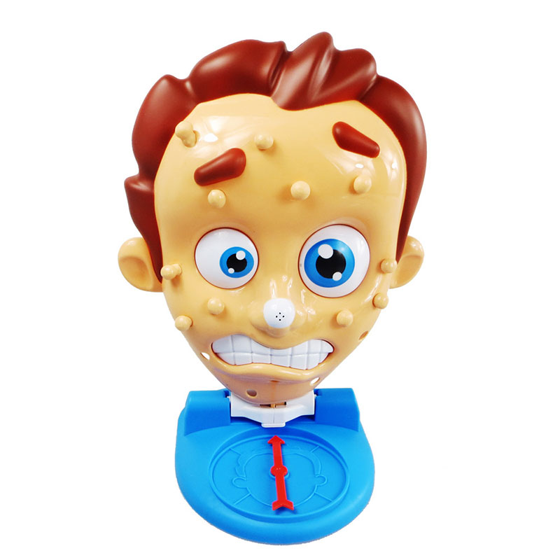 Funny Picking Novelty Squeeze Pimple Rids Acne Toy Child Interaction Interesting Stress Reliever Toys