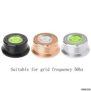 Image 1 - Universele 50Hz Lp Vinyl Record Disc Draaitafel Stabilizer Aluminium Gewicht Klem Dropship