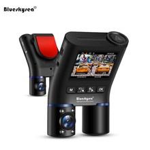 Blueskysea B2W Car Dash Camera Mini WiFi DVRs Cam DVR HD1080P for Uber Lyft Taxi Bus GPS Dashcam IR Night Vision
