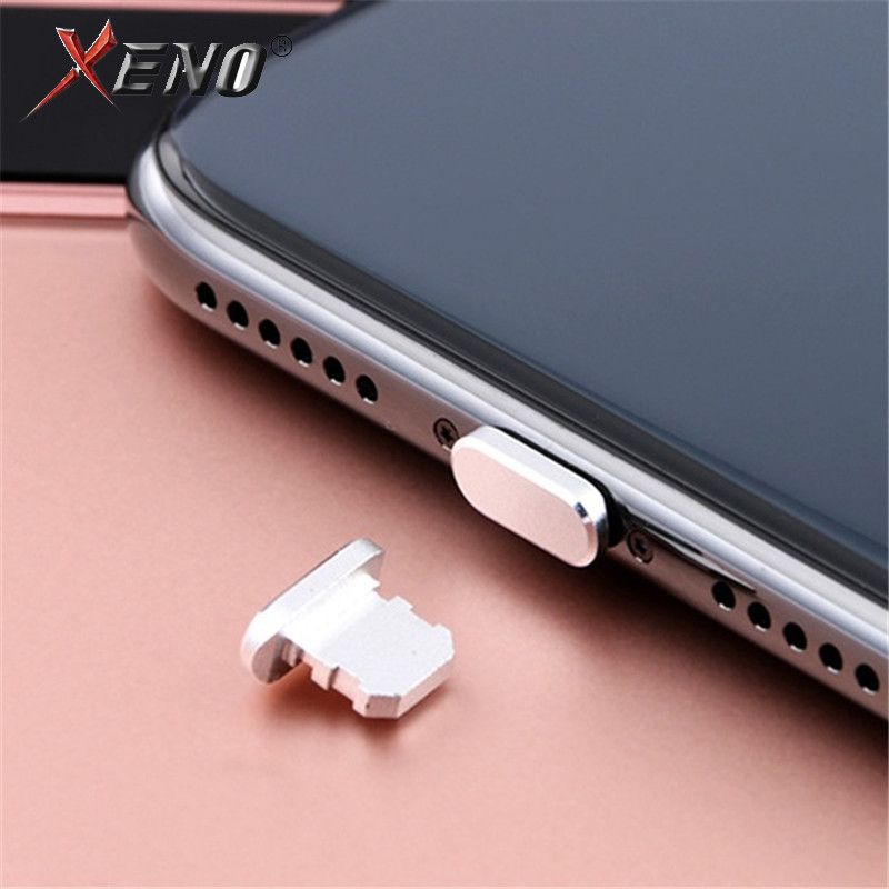 For iphone accessories Earphones Port Metal Dust plug cell mobile phone accessories Charging USB plug For iphone accessories