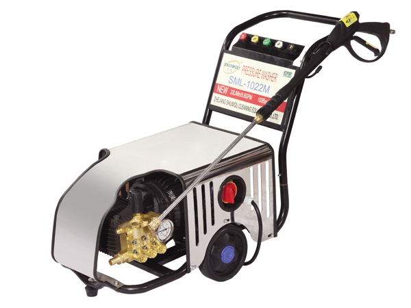 SML 1022m High Pressure Cleaner Pressure Pump Car Wash Device Washing Machine Copper Motor