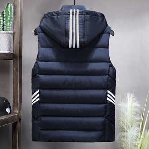Image 2 - Plus Size 8XL 7XL 6XL 5XL 4XL 2019 New Casual Vest Men Autumn Jackets Thick Vests Man Sleeveless Coats Male Warm Waistcoat men