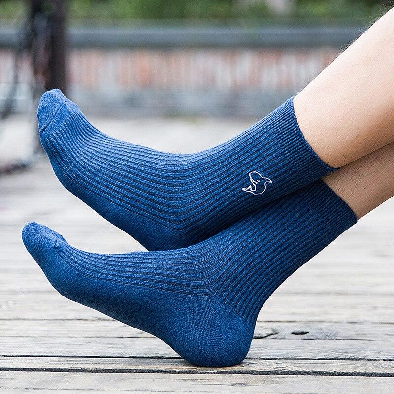 Permalink to Socks Men's Socks Cotton Socks Four Seasons Sports Spring and Autumn Winter Deodorant Sweat Men's Cotton Socks
