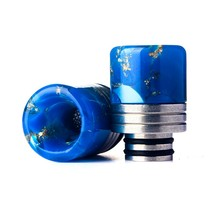 New Drip Tip 510 Resin Cigarette Holder Accessories Star Epoxy Resin Mouthpiece for TFV8 Big Baby/TFV12 with O-ring(China)