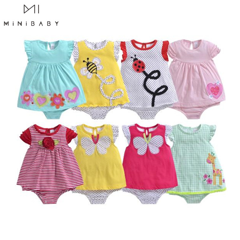 Newborn Baby Clothes Girl Summer New Arrival Overalls For Baby Girl Short Sleeve Pure Cotton Soft Rompers Cute Jumpsuits 0-24m
