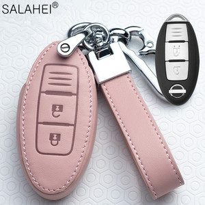 Image 3 - Auto Schlüssel Abdeckung Schutz Fall Für Nissan Qashqai J10 J11 X Trail t31 t32 kicks Tiida Pathfinder Murano Hinweis juke 370Z Cube Micra