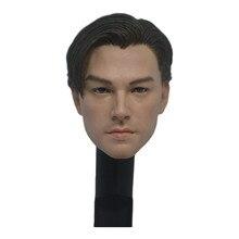 1/6 mt001 jack leonardo dicaprio cabeça esculpir f 12