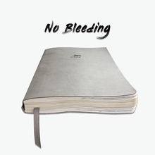 Papel pontilhado do caderno 120gsm da grade do ponto do jornal da capa macia, nenhum fantasma, nenhum sangramento