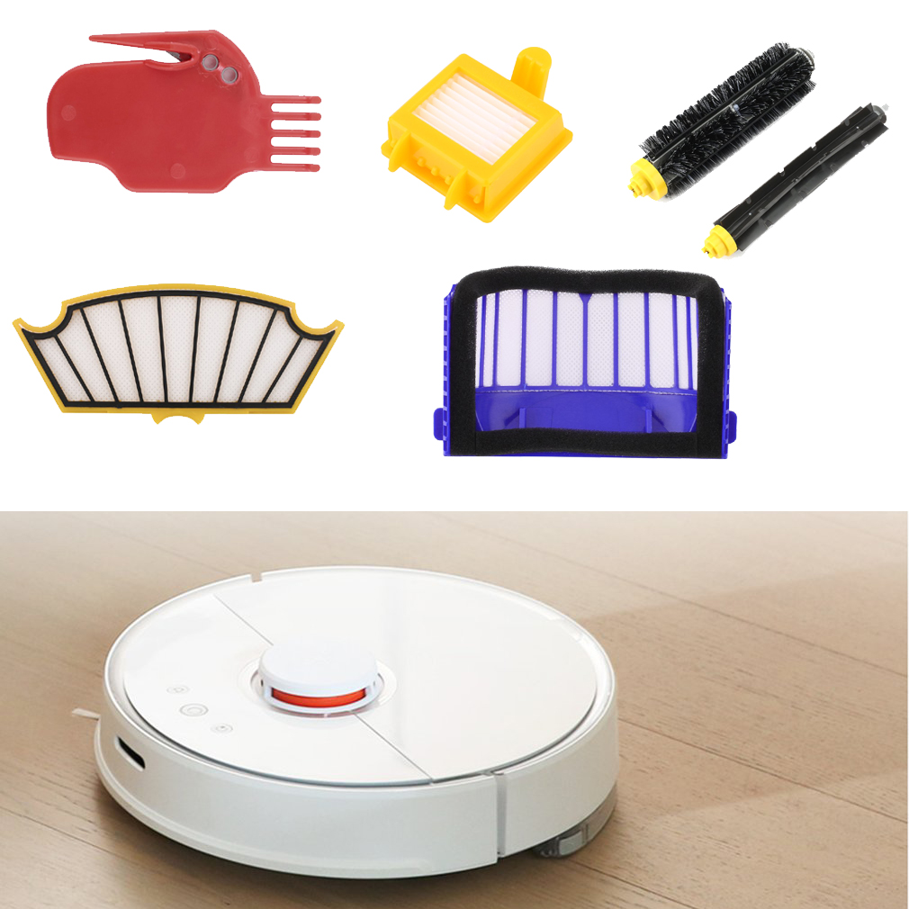 Sweeping Robot Vacuum Cleaner Filter Universal Front Wheel Replacement For Roomba 600-790 Series Kinds Of Cleaner Accessories